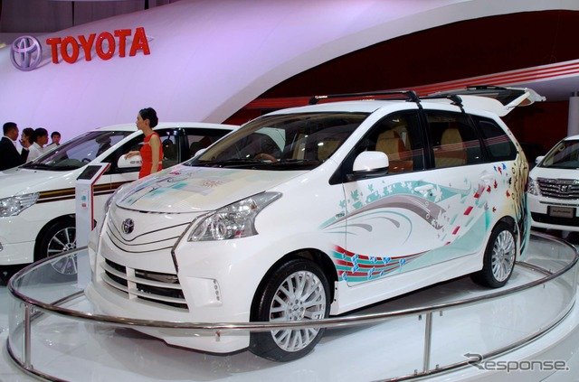 Super VIP specification of Toyota Avanza (14 Jakarta motor show)