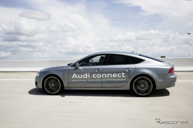 Audi A7 Sportback รถทดสอบ