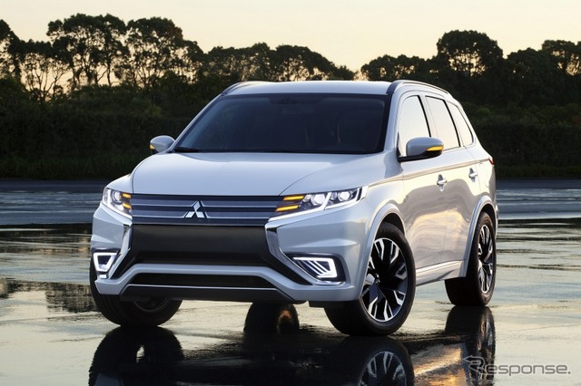 Mitsubishi Outlander PHEV concept - S