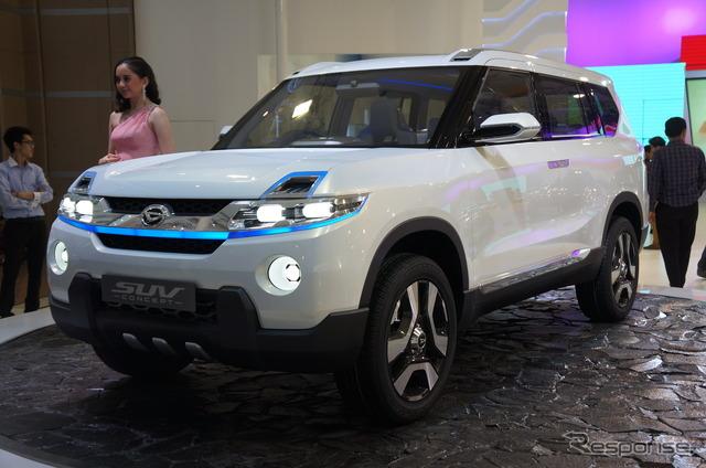 Daihatsu SUV concept (Jakarta Motor Show 14)