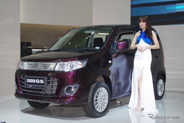 Suzuki Karimun Wagon R GS at the 2014 Jakarta Motor Show