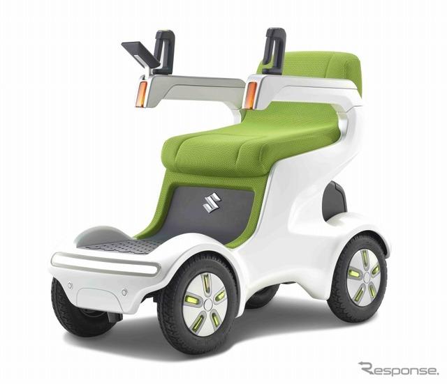Suzuki, urban-type electric wheelchair UT concept