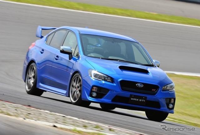Subaru WRX STI (reference image)