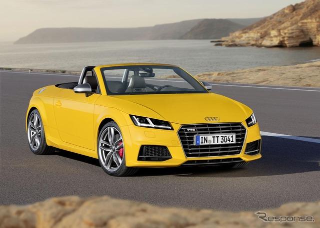 ใหม่ Audi TTS Roadster