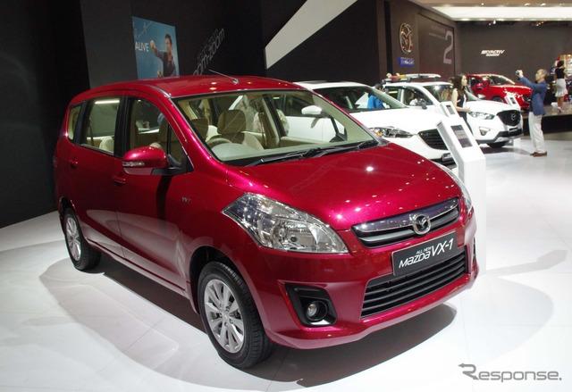 Mazda VX-1 at 2014 Jakarta Motor Show