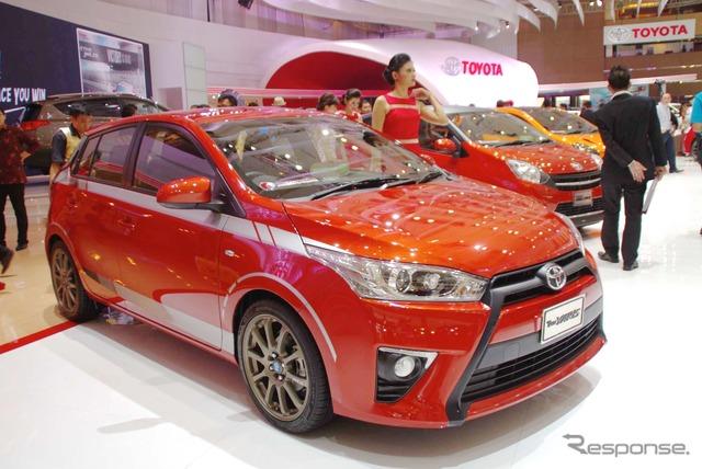 Toyota Yaris (2014 Jakarta Motor Show)