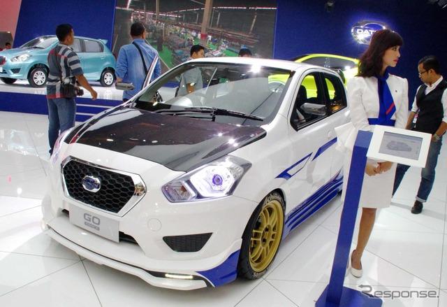 Datsun goer punch SPARCO specifications (Jakarta Motor Show 14)