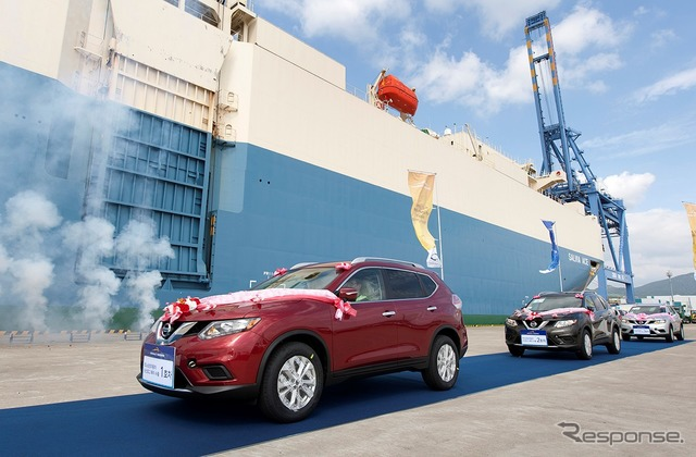 Be exported to North Korea from Renault-Nissan Rogue