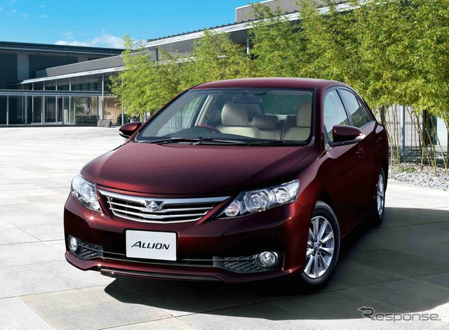 "Toyota Allion A15 ""G-plus package"" (2WD)"