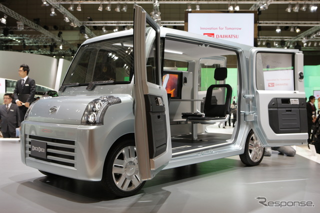 Daihatsu launches a new kei car based on Deca Deca that was announced in Tokyo Motor Show (Photo of concept car)