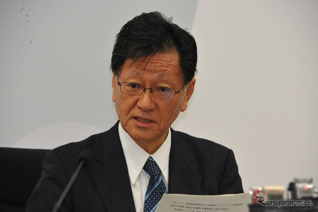 Jinno naohiko, Professor and Chairman of study Committee on the automobile concerned taxes