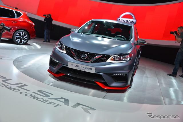 Nissan Pulsar Nismo concept (2014 Paris Motor Show)