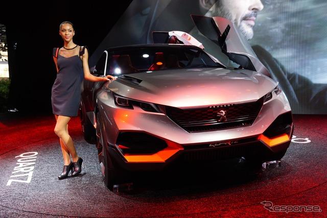 Peugeot quartz (14 at the Paris Motor Show)