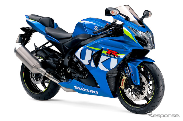 Suzuki GSX-R1000 with GSX-RR coloring