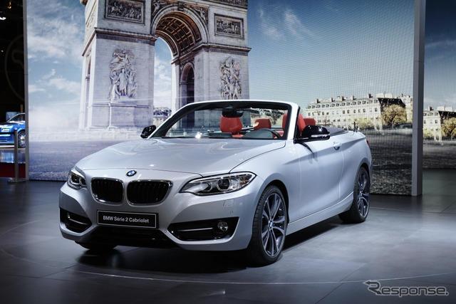 BMW 2 series cabriolet (14 at the Paris Motor Show)