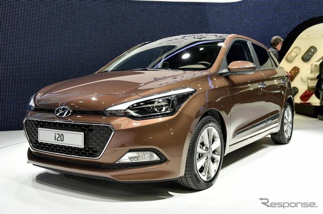 New Hyundai i20 (14 at the Paris Motor Show)