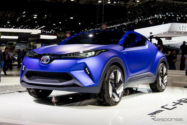 Toyota C-HR Concept (2014 Paris Motor Show)