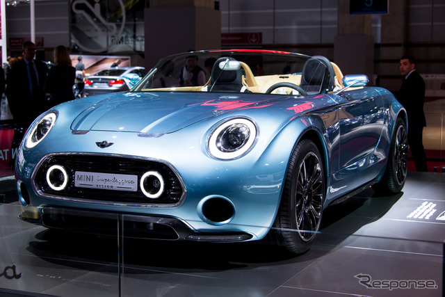 MINI superreggerla vision (14 at the Paris Motor Show)