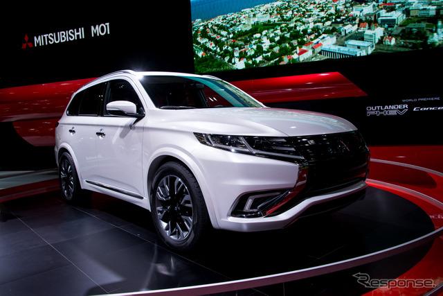 Mitsubishi Outlander PHEV Concept-S (2014 Paris Motor Show)