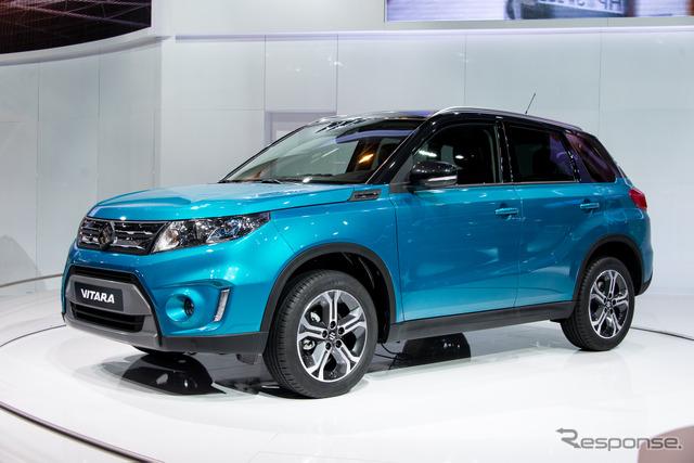 Suzuki Vitara (2014 Paris Motor Show)