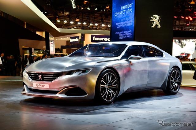 New kit for Peugeot EXALT (14 at the Paris Motor Show)
