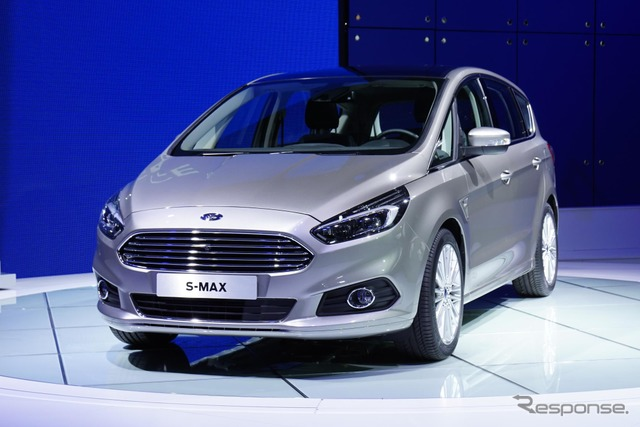 New Ford s-max (14 at the Paris Motor Show)