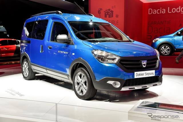 Dacia docker step way (14 at the Paris Motor Show)