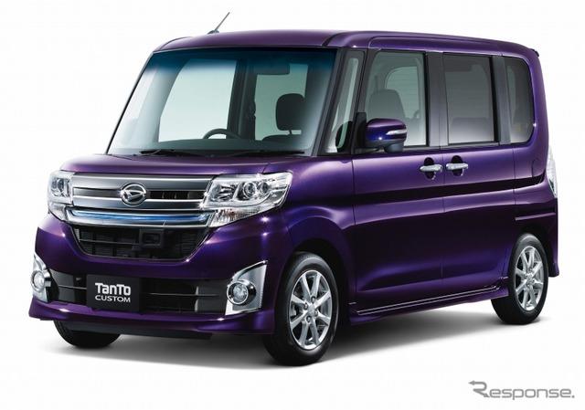 Daihatsu tanto custom top editions SA