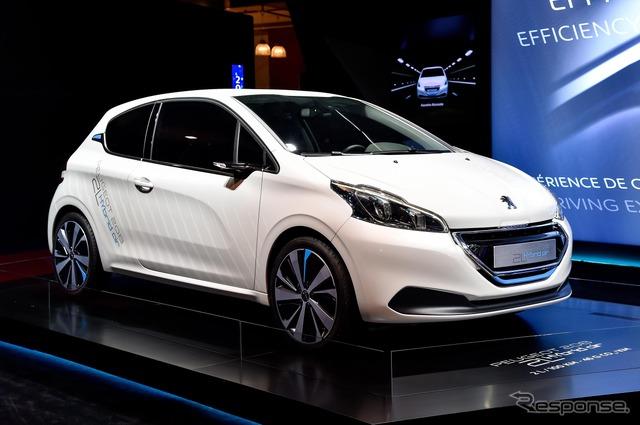Peugeot 208 hybrid air 2 L (14 at the Paris Motor Show)