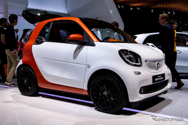 Smart-Fortwo (14 at the Paris Motor Show)