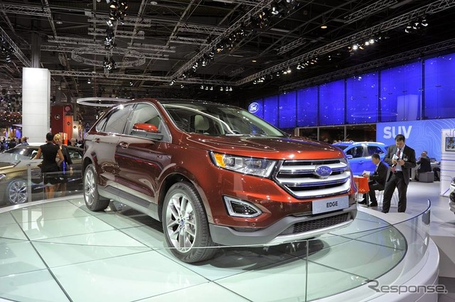 New Ford Edge (14 at the Paris Motor Show)