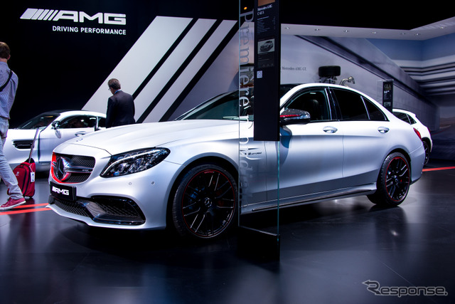 And Mercedes-AMG C 63 (14 at the Paris Motor Show)