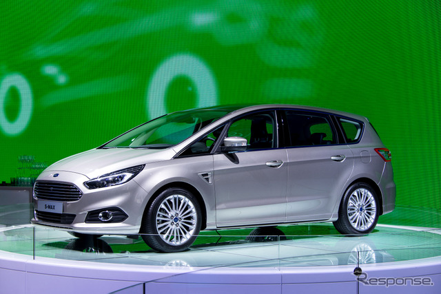 Ford, new s-max (14 at the Paris Motor Show)