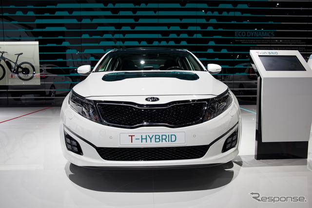 Kia Optima t-hybrid (14 at the Paris Motor Show)