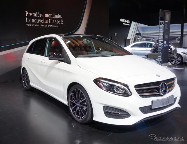 New Mercedes-Benz B class (14 at the Paris Motor Show)