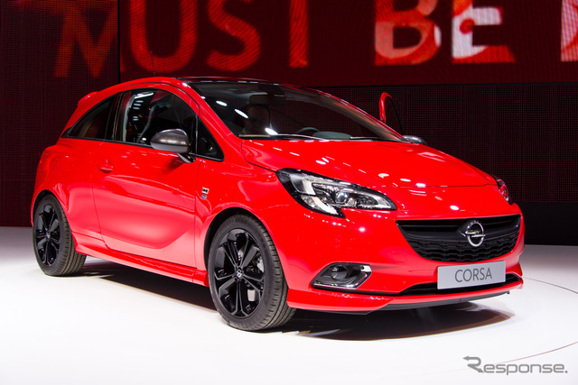 Opel new Corsa (14 at the Paris Motor Show)