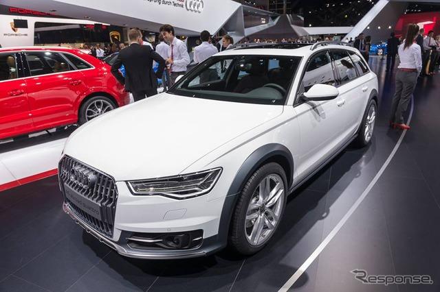 Quattro allroad Audi A6 ใหม่ (14 ปารีสมอเตอร์โชว์)
