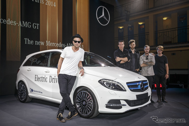Mercedes-Benz B class, electric drive improved new (14 at the Paris Motor Show)