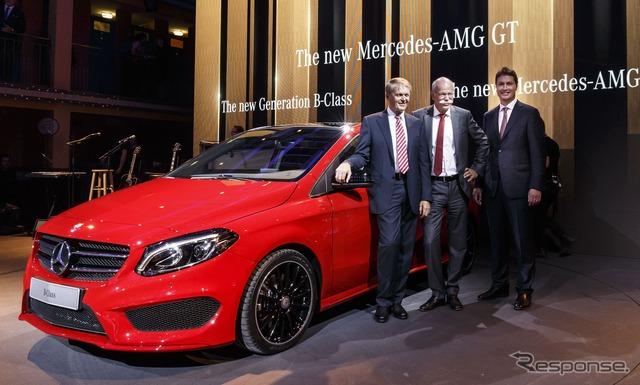 AMG Mercedes-Benz B class improvement of new line (14 at the Paris Motor Show)