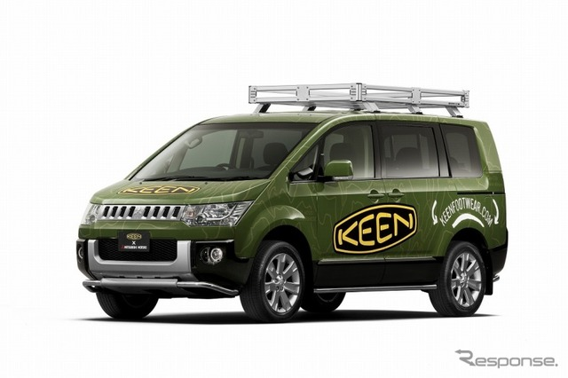 Collaboker created by Mitsubishi Motors and KEEN Delica d: 5