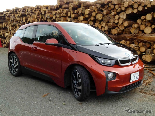 BMW i3 range extender vehicles