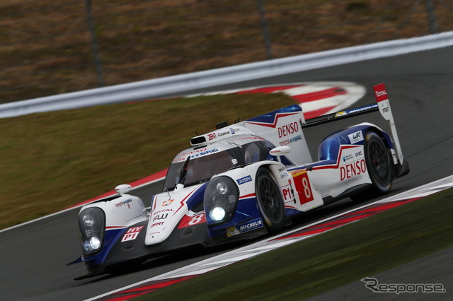 Winner's no. 8 car Toyota WEC round 5