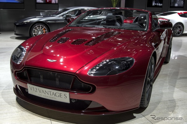 Aston Martin V12 Vantage S Roadster (14 at the Paris Motor Show)