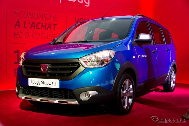 Dacia, lousy step way (14 at the Paris Motor Show)