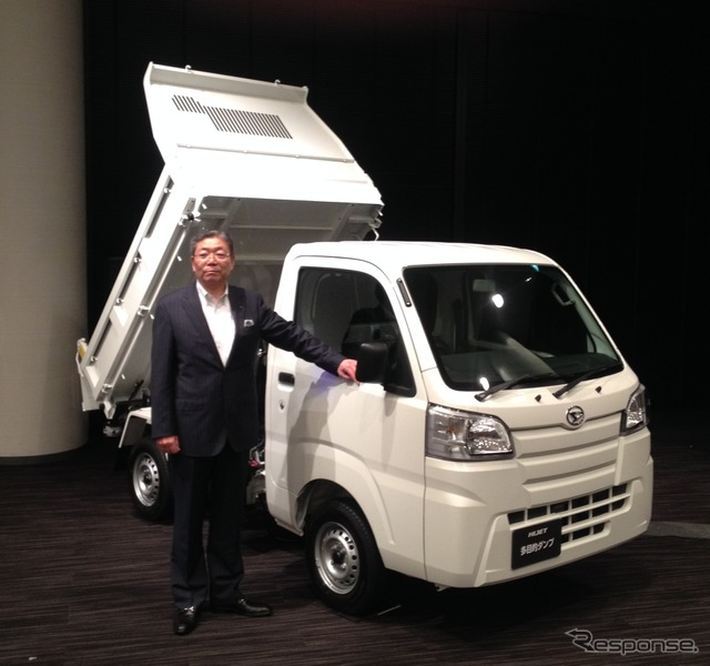 Daihatsu sales division Horii Jin, Senior Managing Executive Officer,