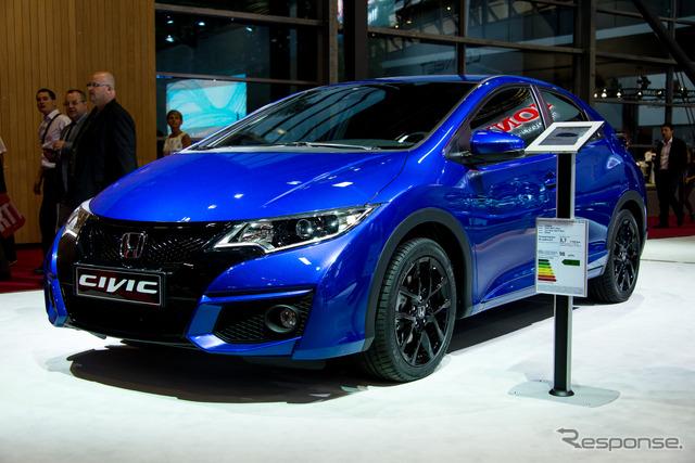 Honda Civic sport (14 at the Paris Motor Show)