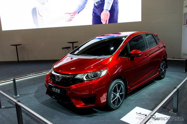 Honda Jazz prototype (2014 Paris Motor Show)