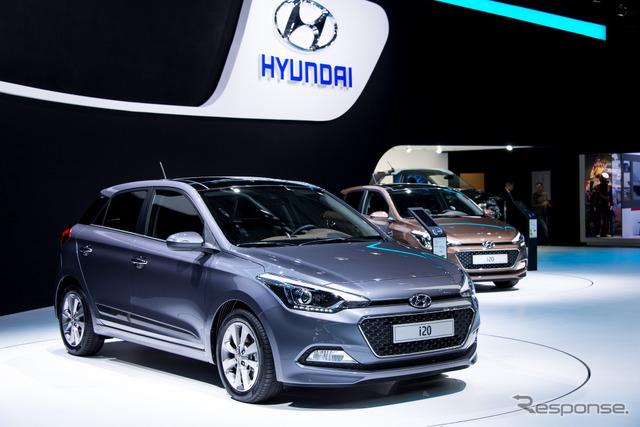 Hyundai i20 (14 at the Paris Motor Show)