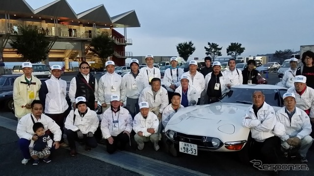 Photo taken, and ends with the great sense of accomplishment at 5: ( 10/12 Fuji Speedway )