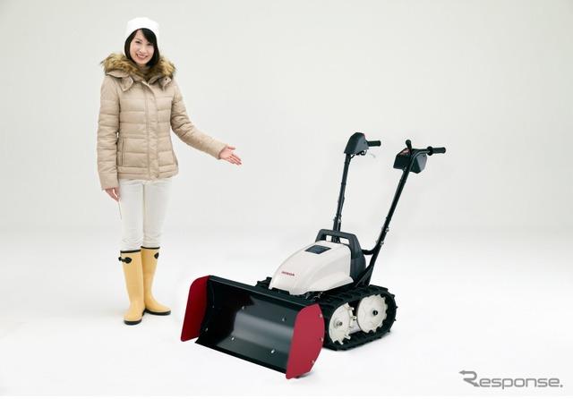 ฮอนด้า หิมะแบบชาร์จไฟฟ้าใบไถราคาเครื่องอี Yukos